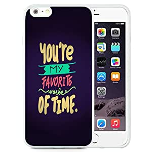 Favorite Waste Of Time (2) Durable High Quality iPhone 6 Plus 5.5 TPU Phone Case