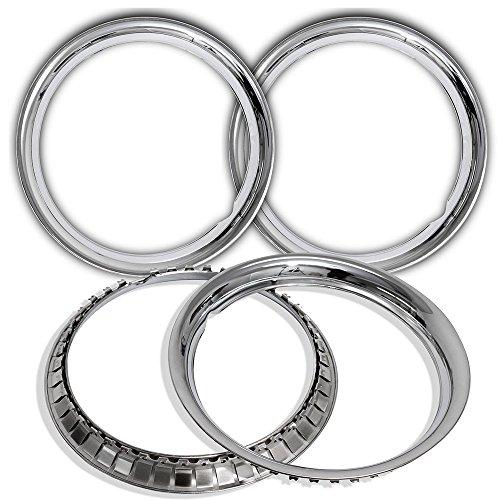 Chrome Steel Wheel Beauty Glamour