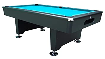 Playcraft Black Knight 8u0027 Pool Table Style: Ball Return