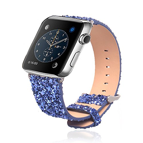apple watch band rotibox extreme deluxe 3d bling leather. Black Bedroom Furniture Sets. Home Design Ideas