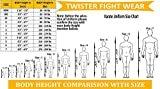 Twister Karate Uniforms middleweight Black 8oz for