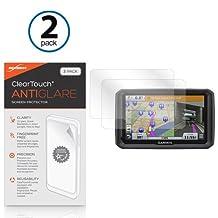 BoxWave Garmin Dezl 770LMTHD ClearTouch Anti-Glare Screen Protector (2-Pack) - Garmin Dezl 770LMTHD Anti-Glare, Anti-Fingerprint Matte Film Skin to Shield Against Scratches