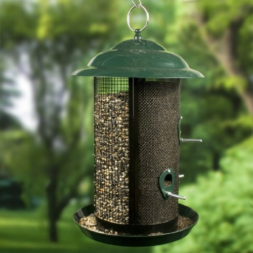Combination Nyjer & Mixed Seed Mesh Bird Feeder