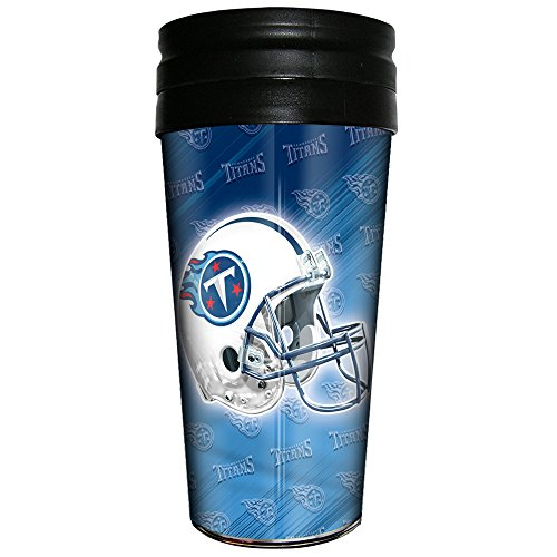 NFL Tennessee Titans 3D Metallic Thermal Mug, 16-ounce