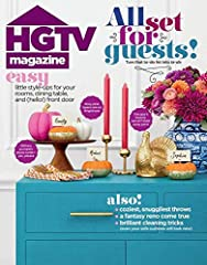 HGTV Magazine is a fresh, new home lifestyle magazine that gives readers inspiring, real-life solutions for all the things that homeowners deal with every day -- from painting to pillows to property values -- in an upbeat and engaging way