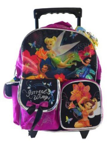 Small Size Sureal Wings Disney Fairies and Tinkerbell Rolling - Sureal