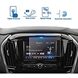 #7: LFOTPP 2018 Chevrolet Traverse 7 Inch MyLink Car Navigation Screen Protector, [9H] Tempered Glass Infotainment Center Touch Display Screen Protector Anti Scratch High Clarity