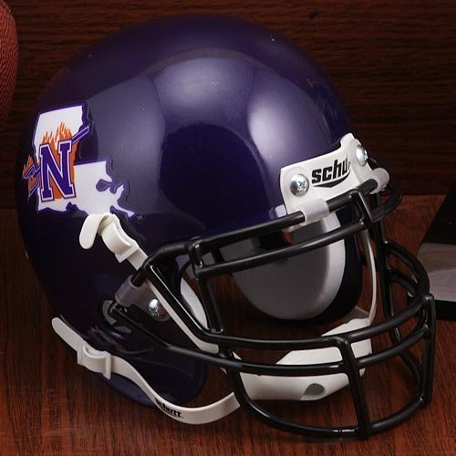 Schutt NCAA Northwestern State Demons Unisex NCAA Northwestern State Louisiana Demons Football Helmet Desk Caddyncaa Northwestern State Louisiana Demons Football Helmet Desk Caddy, Classic, N ()