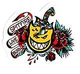 Spitfire Wheels OG Flash Dagger Skateboard Sticker 13 x 10.5cm approx - new sk8