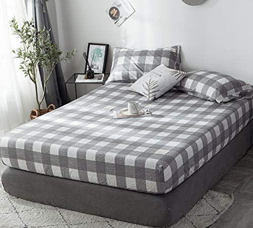 AJCAW Cama Bedstrap de algodón básica, Funda de colchón de una ...