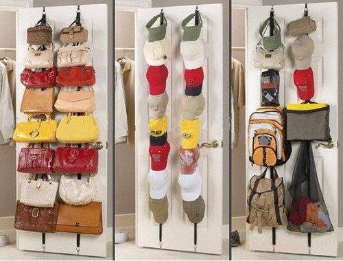 Organizador colgador Rack Bag 16 ganchos para colgar bolsos bufandas y sombreros Suspensión del bolso mws: Amazon.es: Zapatos y complementos