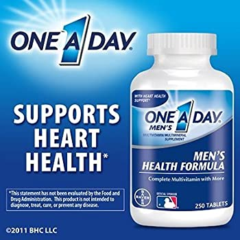 One A Day Men's Health Formula, 250 Tablets