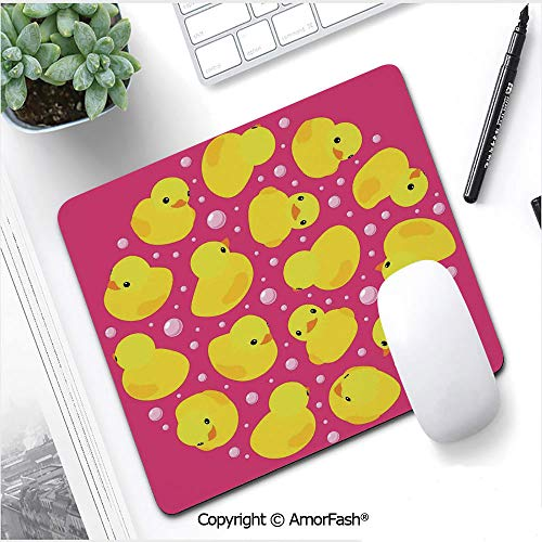 (Heat Transferred Printing Mouse Pad for Office and Home,Non-Slip Rubber,8.3