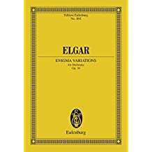 Enigma Variations: Op. 36 (Eulenburg Studienpartituren)