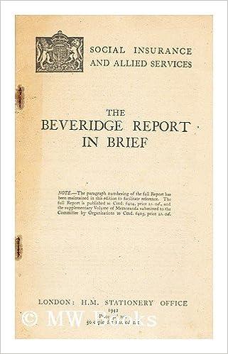 beveridge report 1942