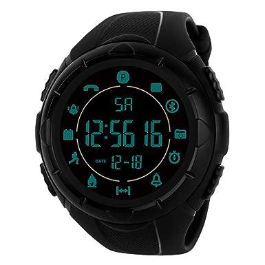 Rcool Relojes suizos relojes de lujo Relojes de pulsera Relojes para mujer Relojes para hombre Relojes deportivos,Smartwatch Standby Time 24h Monitoreo todo ...