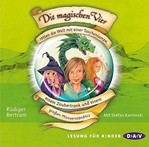 Price comparison product image Die magischen Vier 01 retten die Welt mit einer Taschenlampe,  einem Zaubertrank und einem großen Missverständnis