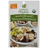 Simply Organic Wild Mushroom Sauce Seasoning Mix Seasoning Mixes, 24 gm