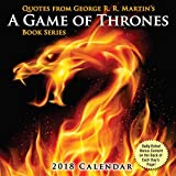 Quotes from George R.R. Martin's A Game of Thrones Book Series 2018 Day-to-Day C