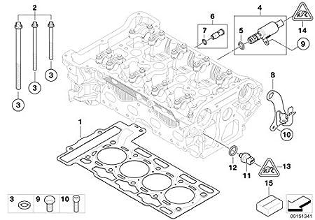 Mini Genuine Solenoid Valve Solv For Engine Cylinder Head