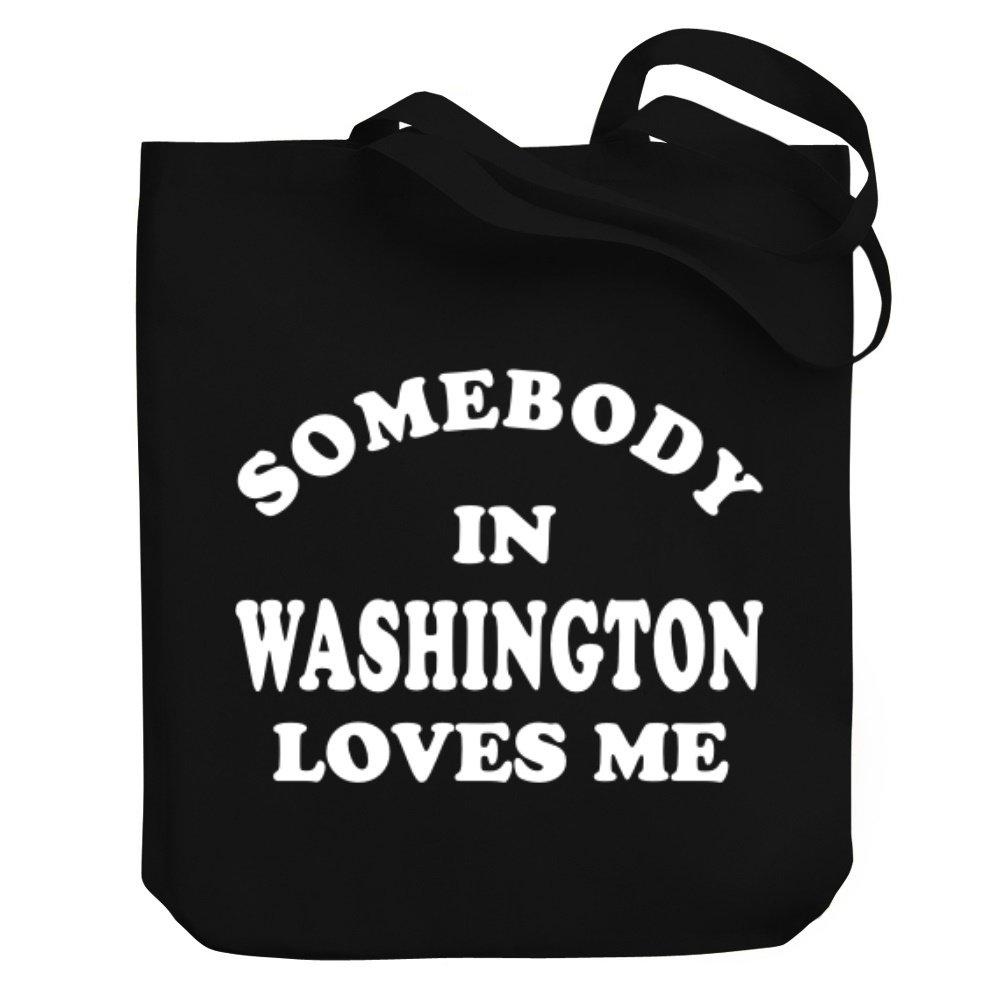 Teeburon SOMEBODY IN Washington LOVES ME Bolsa de Lona