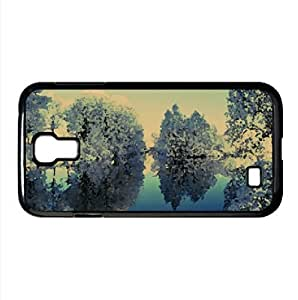 lintao diy Frozen Trees Reflected In Water Watercolor style Cover Samsung Galaxy S4 I9500 Case (Winter Watercolor style Cover Samsung Galaxy S4 I9500 Case)