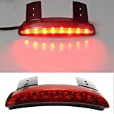Chopped Fender Edge LED Tail Light For Harley Davidson Iron Sportster XL 883 1200 Red