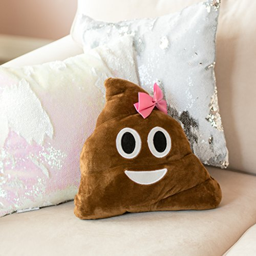 ankit-12x14-inches-poo-bow-pillow-decorative-pillows-throw-pillows-for-couch-decorative-throw-pillow