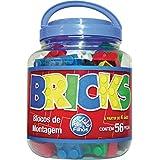 Bricks Blocos de Montar Pais e Filhos 56 Peças