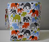 Cloth Diaper Wet Dry Bag Elephants