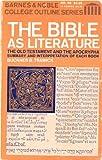 The Bible As Literature, Buckner B. Trawick, 0389000205