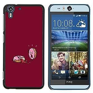 Stuss Case / Funda Carcasa protectora - Fiebre divertido motivación Azúcar - HTC Desire Eye M910x