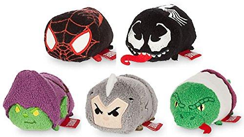 Marvel Spiderman Tsum Tsum Mini Set of (Venom Plush)