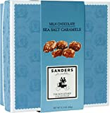 Sanders Boulevard Collection Milk Chocolate Sea Salt Caramels Gift Box (3.5 Oz.)