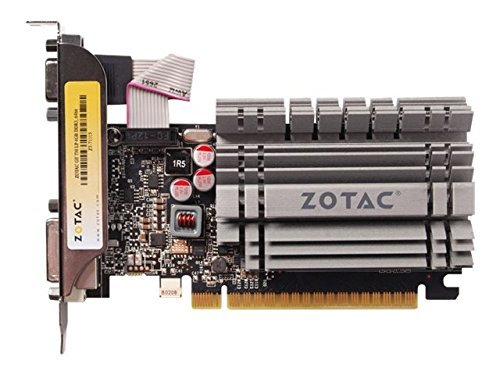 51zVUlH TYL - ZOTAC GeForce GT730 Zone Edition Fanless 1GB DDR3 PCI Express 2.0 HDMI DVI Video Graphics Card