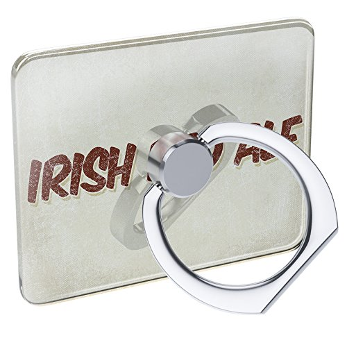 Cell Phone Ring Holder Irish Red Ale Beer, Vintage Style Collapsible Grip & Stand ()