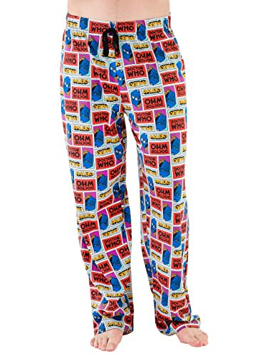 Doctor Who Mens' Dr Who Pajama Lounge Pant X Large