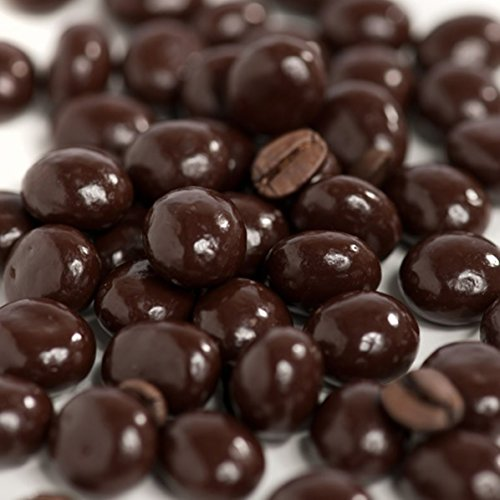Ghirardelli Dark Chocolate Espresso Beans (1 Pound Bag) Chocolate Covered Coffee Beans