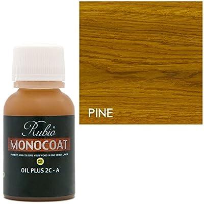 Rubio Monocoat Oil Plus 2C-A Sample Wood Stain Pine