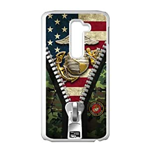 US USMC Marine Corps Cell Phone Case for LG G2