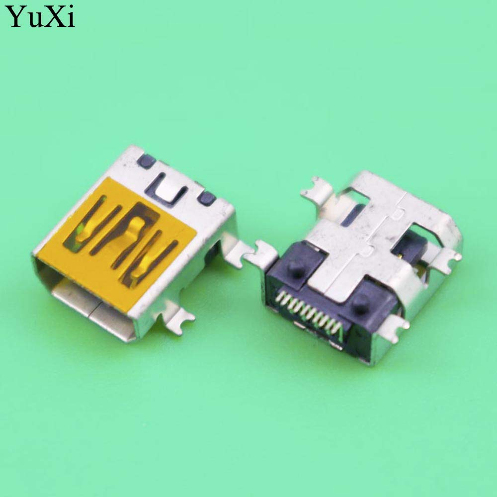 Computer Cables Yoton 10pin Communly Used Mini USB Connector Socket Jack for Mobile Phone Tablet PC Cable Length: Other