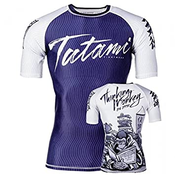 Tatami Fightwear Thinker Monkey S/S Rash Guard - Camiseta para Hombre: Amazon.es: Deportes y aire libre