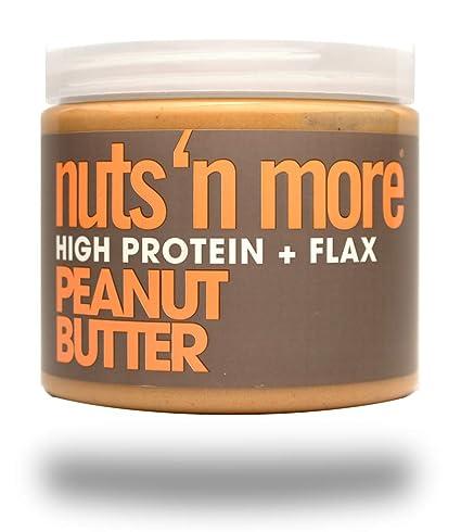 Nuts N More 454 g de mantequilla de cacahuete Suplementos