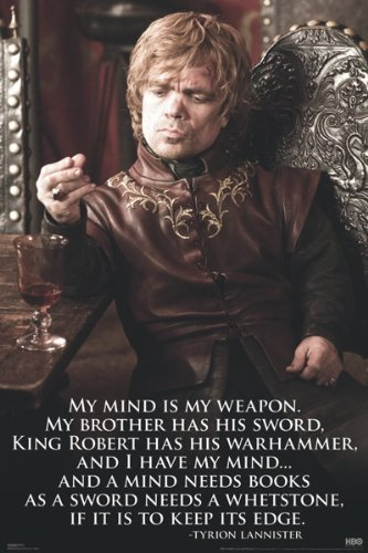 Amazon.com: (24 x 34) Game of Thrones Tyrion Lannister TV ...
