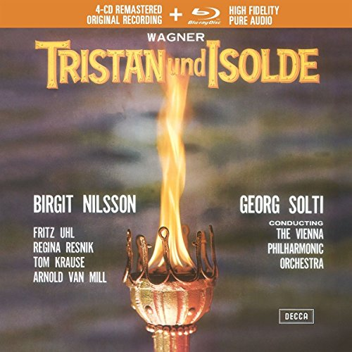 Tristan und Isolde [3 CD/Blu-ray Audio Combo]