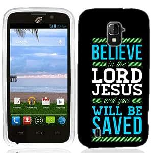 For ZTE Majesty Z796C Believe Jesus Case Cover