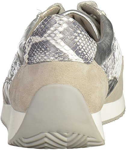 ara 34020-05 - Zapatos de cordones para mujer gris kiesel/weiss/grey/silber Weite G kiesel/weiss/grey/silber Weite G