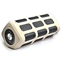 SNEED-Wireless Bluetooth speaker with mobile power portable outdoor sports waterproof dust drop resistance , white