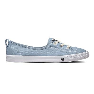 Blaue CONVERSE Sneaker CHUCK TAYLOR BALLET LACE Bequemes