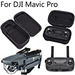 DJI Mavic Pro Carrying Case Foldable Drone Body and Remote Controller Transmitter Bag Hardshell Housing Bag Storage Box by FSLabs